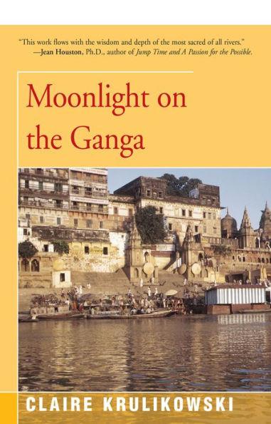 Moonlight on the ganga open road
