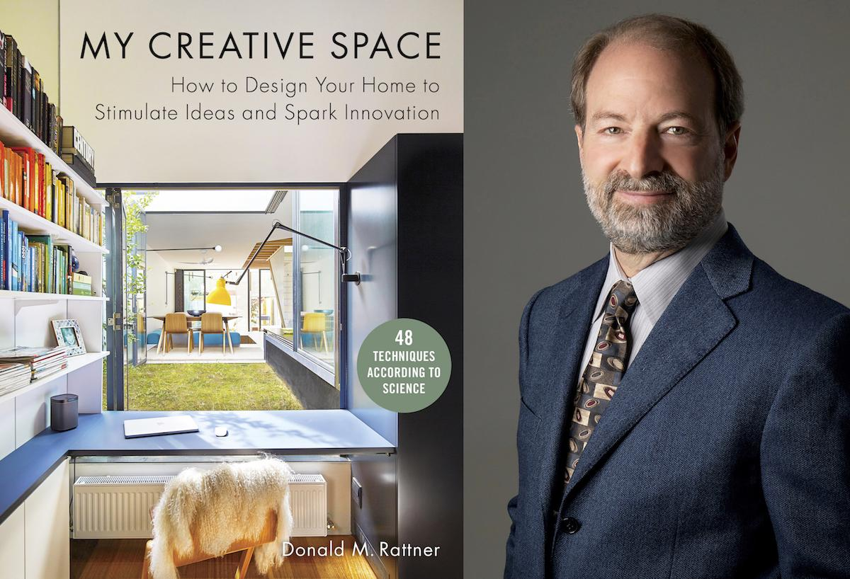 Donald m rattner my creative space combo cover and headshot 1200x800 72dpi