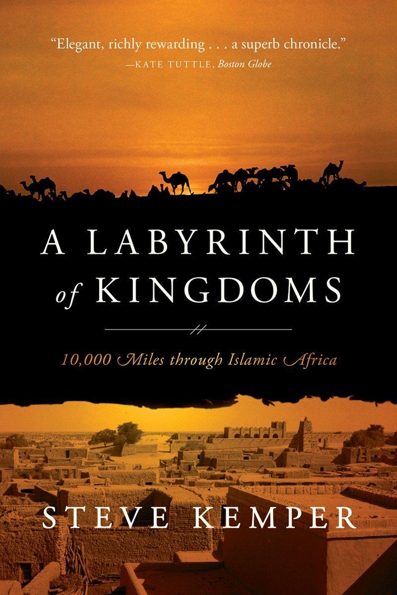 A labyrinth of kingdoms with blurb