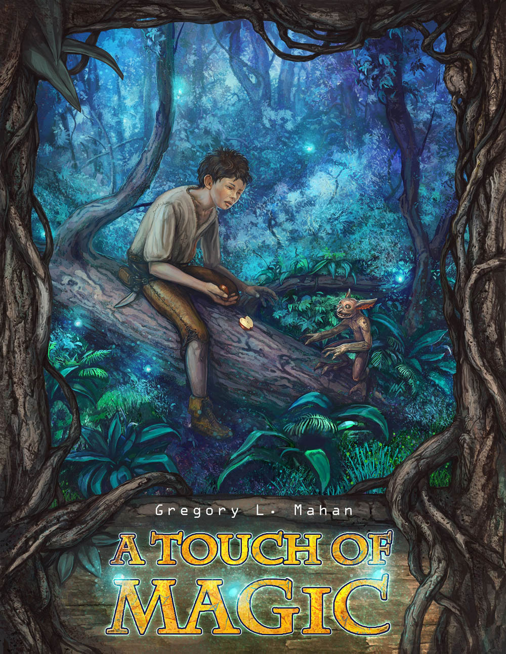 A touch of magic cover