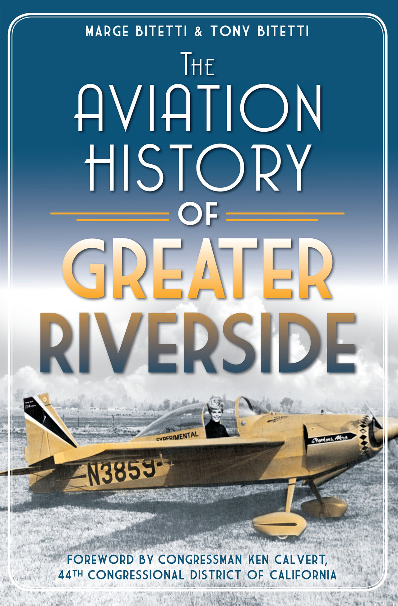 Aviation history of greater riverside  cover