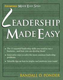 Leadership made easy %28entrepreneur press  2005%29