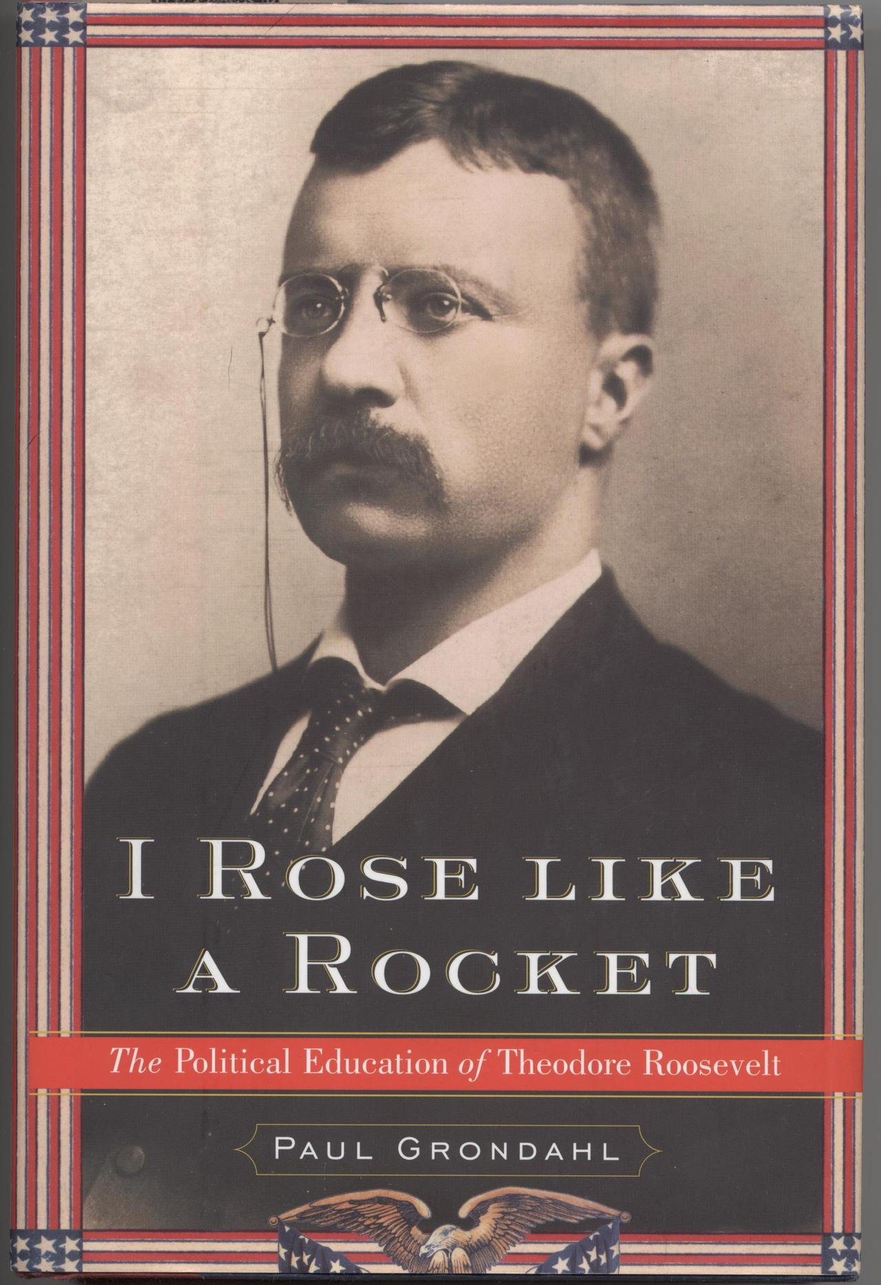 I rose like a rocket book cover