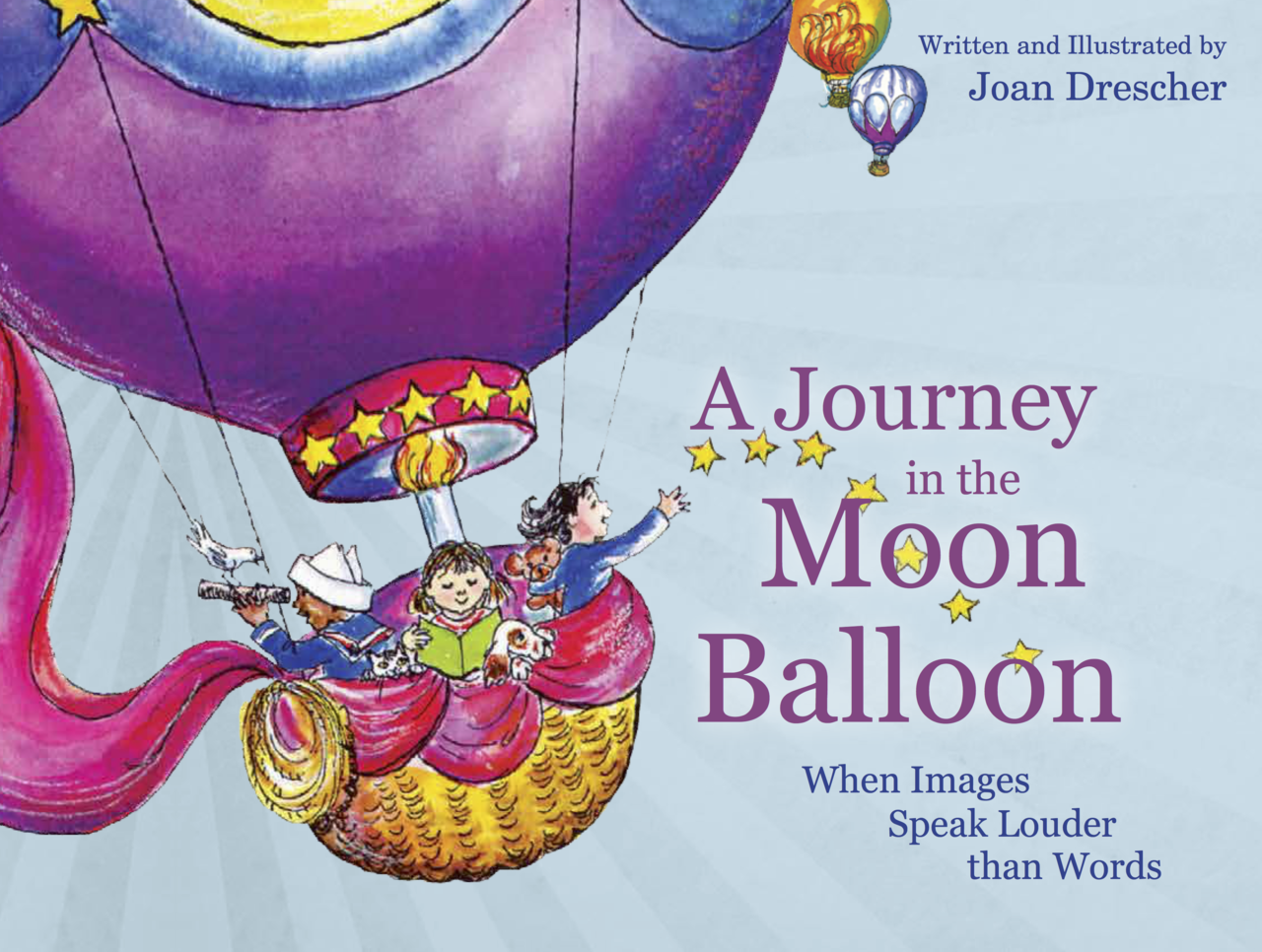 Drescher   a journey in the moon balloon front cover