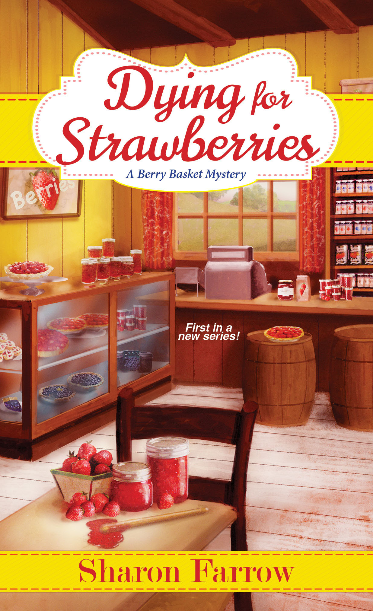 Dying for strawberries final cover