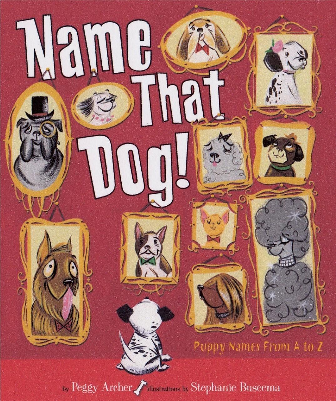 Front namethat dog blog