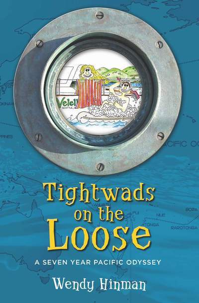 Cover shot of tightwads on the loose by wendy hinman