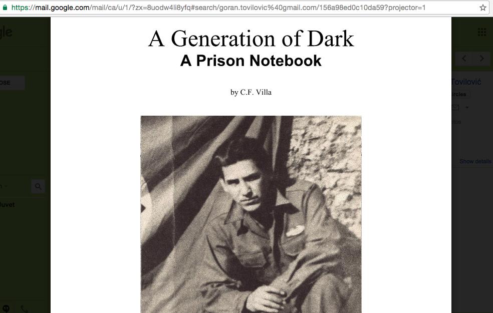 Generation of dark original cover