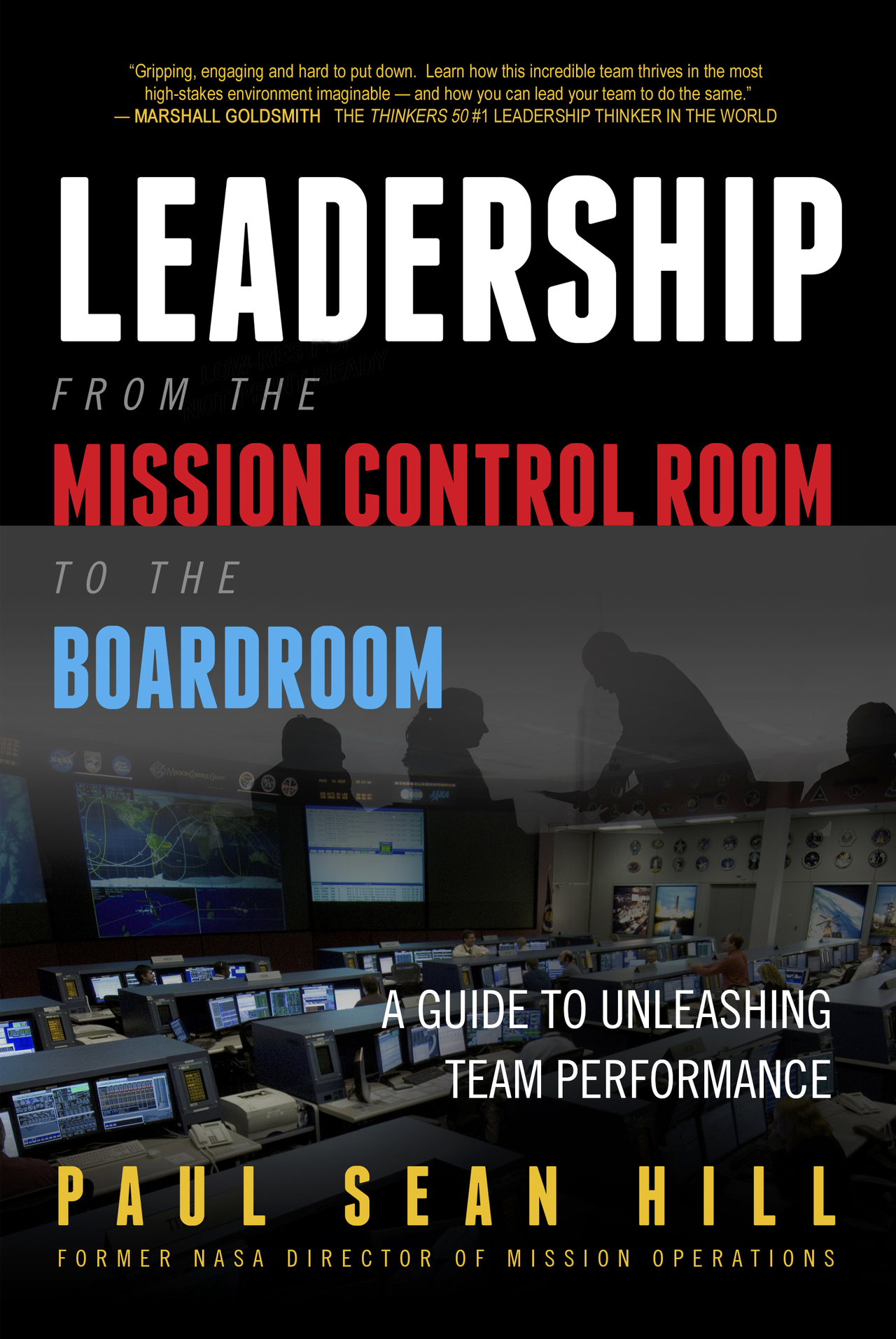 Leadershipfromthemissioncontrolroomtotheboardroom cover