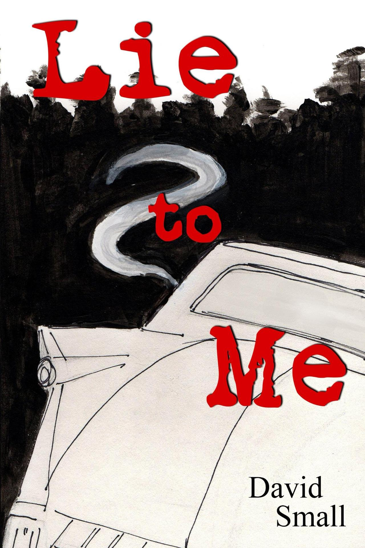 Lie to me cover for kindle