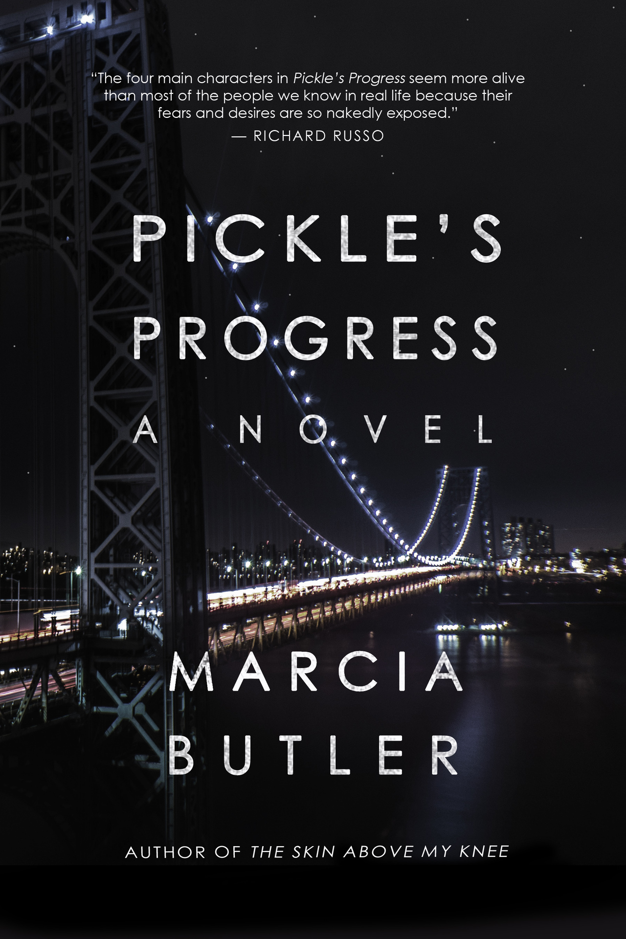 Final pickle's progress cover   marcia butler