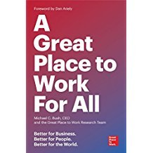 Great place to work for all book jacket 11 14 2018