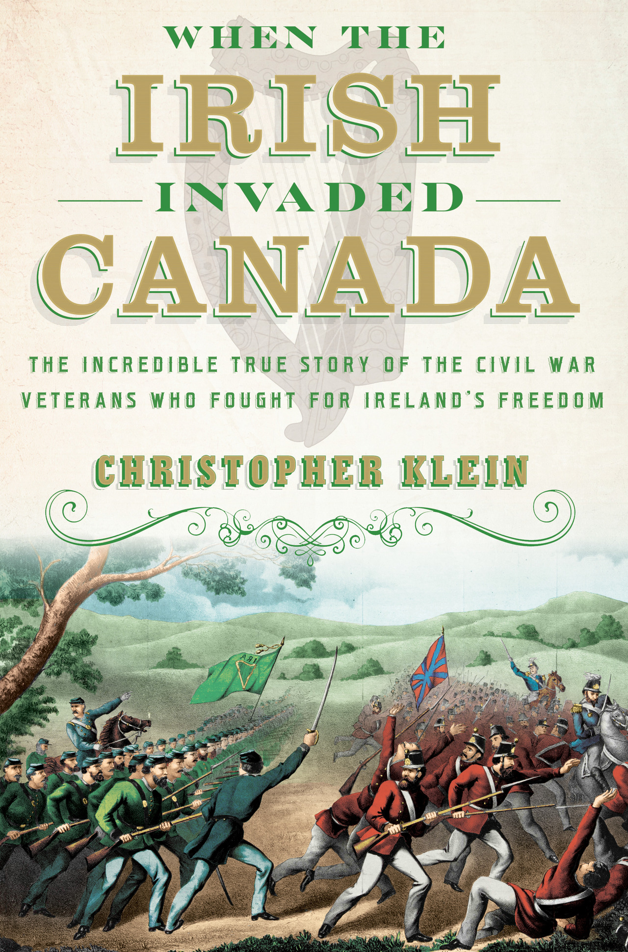 When the irish invaded canada cover