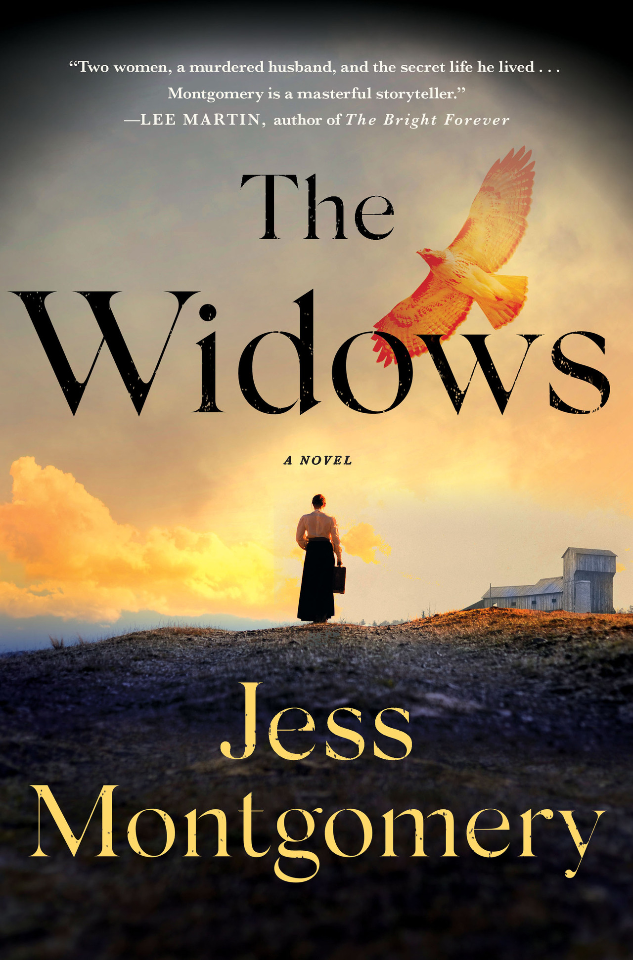 The widows front cover