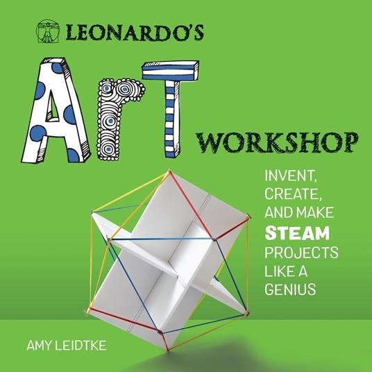 Leonardo's art workshop book cover
