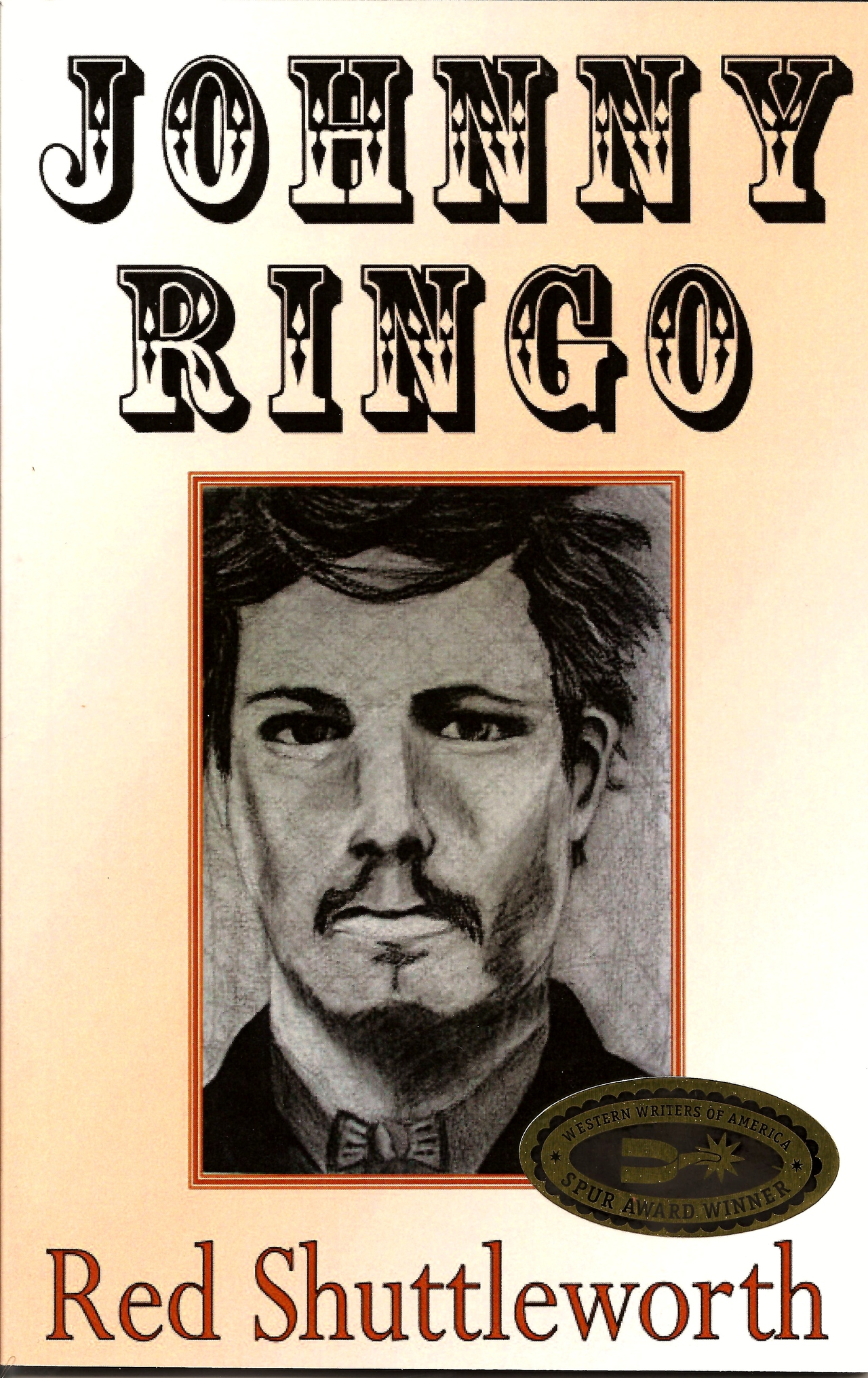 Johnny ringo  spur award book cover