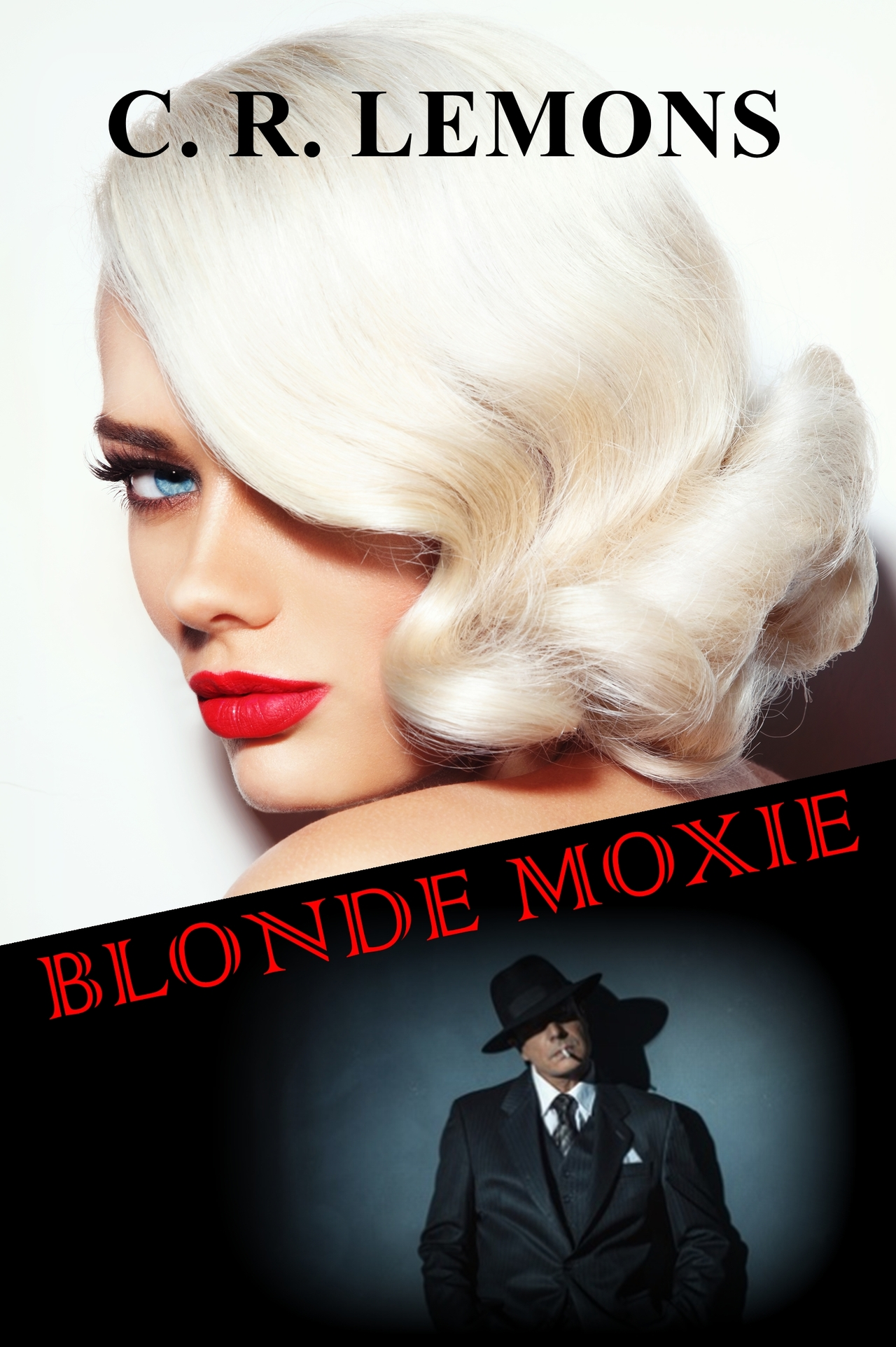 Blonde moxie cover