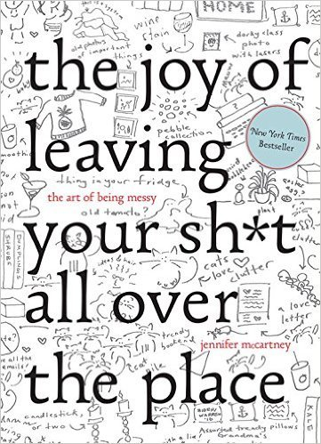 Joy of leaving book cover