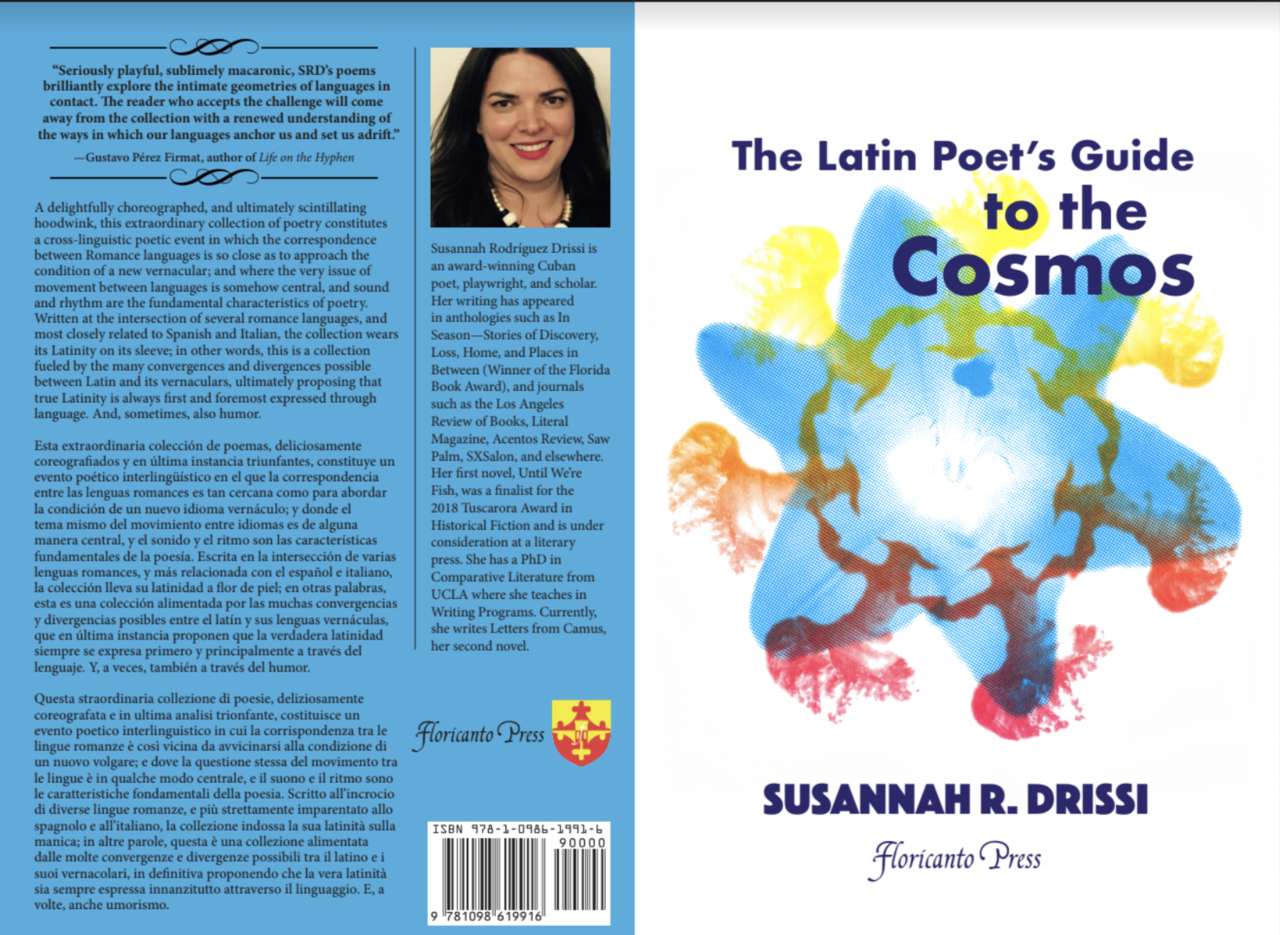 The latin poet's guide to the cosmos book cover