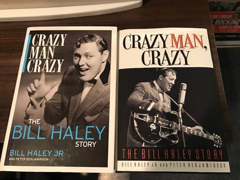 Bill haley book covers