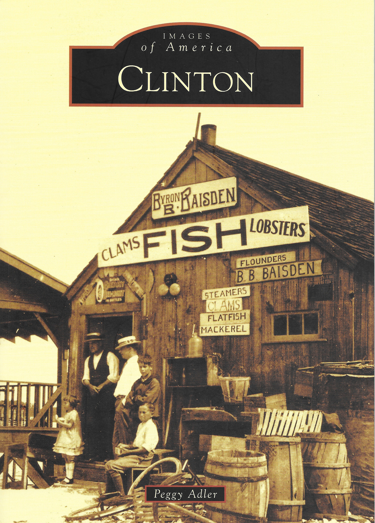 Images of america clinton book cover