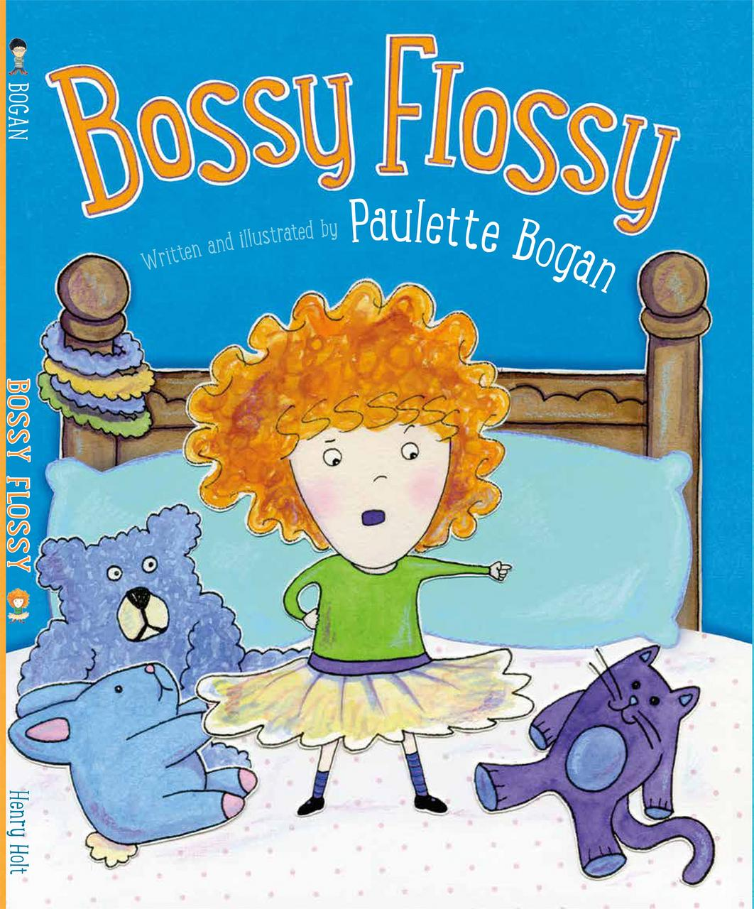 Bossy flossy 1 cover