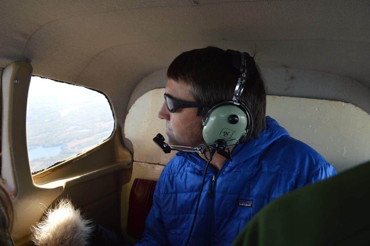 Nick in back of plane