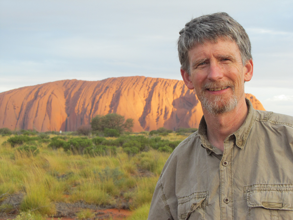 Edward kanze at ayers rock