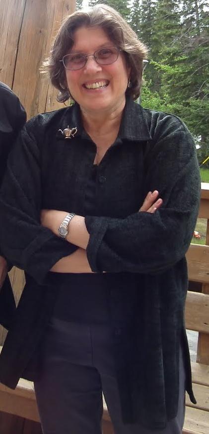 Ellen in banff