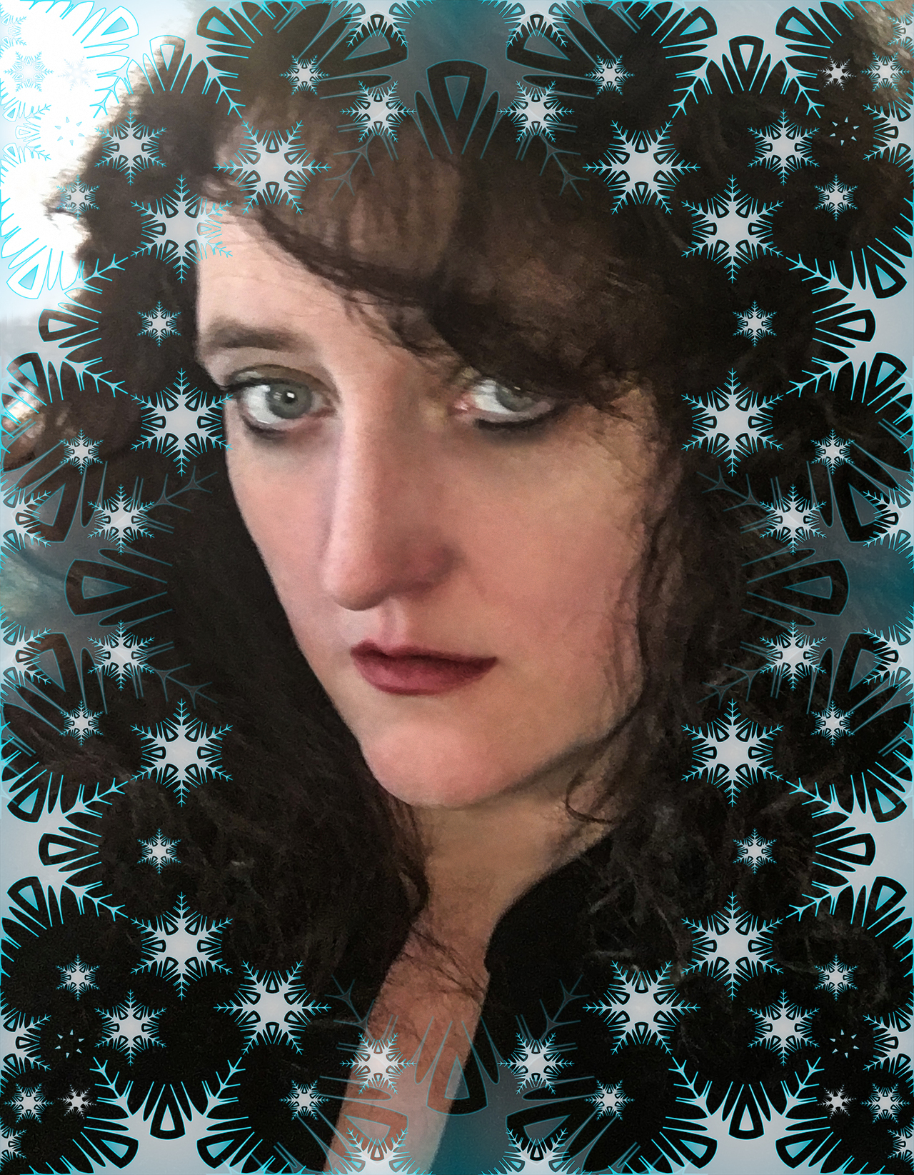 Angie snowflake picture two