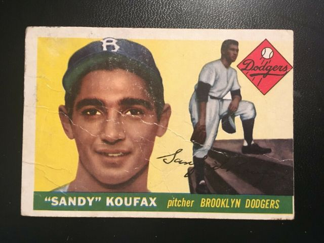 Brooklyn-born Dodger pitcher Sandy Koufax, King of the Jews.