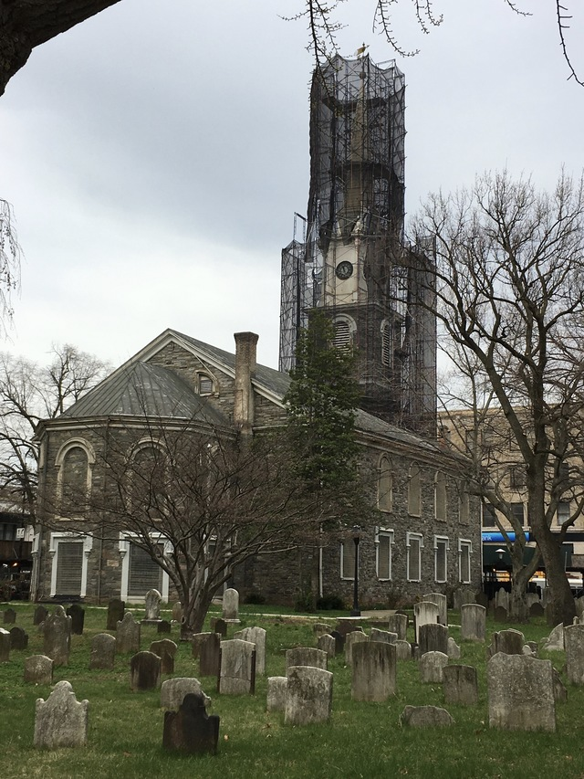 Time stands still in Flatbush's Dutch Reformed Church graveyard.