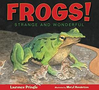 "<font color=""green""><b>Frogs! Strange and Wonderful</b></font>"
