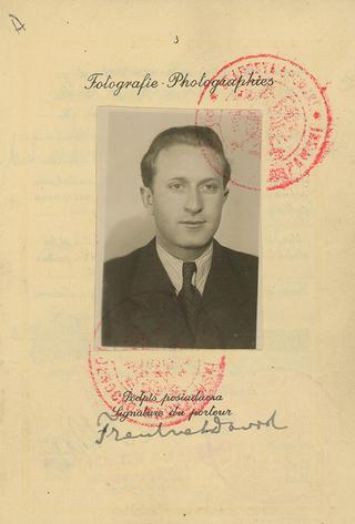 My father's 1939 Polish Passport photo.