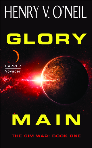 Book 1 of my military science fiction Sim War series