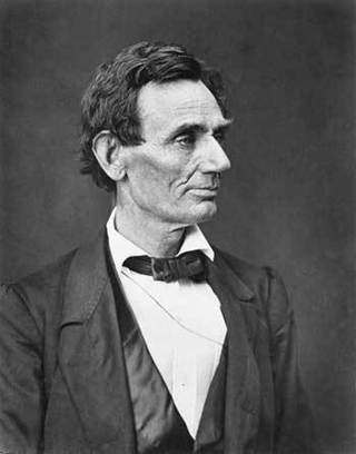 aee76a91020 A clean-shaven Abraham Lincoln in the late 1850s