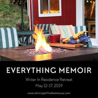"You are invited to join me in an intimate setting for Everything Memoir, a five-day writing retreat with Susy Flory and Kathi Lipp on May 12-17, 2019. This is a ""Writer in Residence Retreat"" for Writing At the Red House."