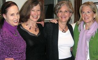 Laurie and some of her long time writer friends.