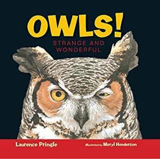 "<font color=""blue""><b>Owls! Strange and Wonderful</b></font>"