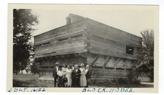 Blockhouse on Bois Blanc (Boblo) Island July 16, 1922