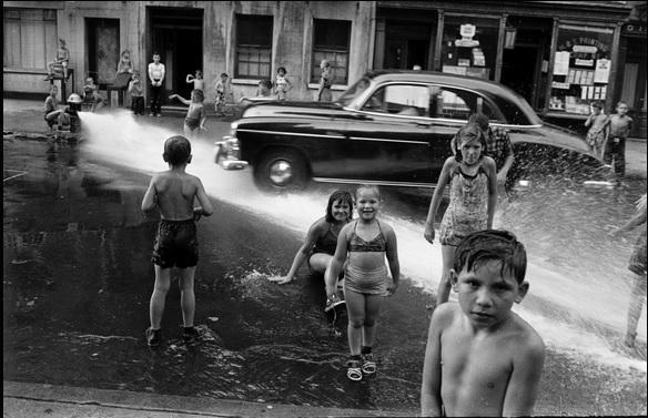 Summer in New York City, 1950s style.