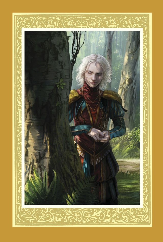 Magali Villeneuve's illustration of The Fool, from Assassin's Apprentice