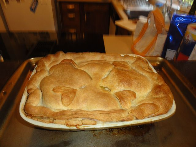 Connecticut Thanksgiving Chicken Pie